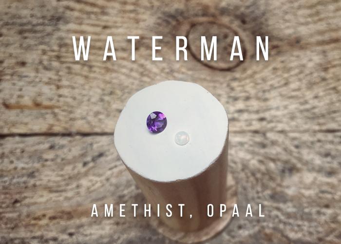 geboortesteen waterman